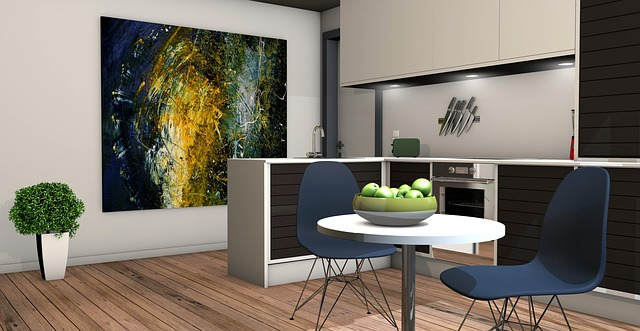 obraz v kuchyni