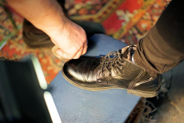 leštění boty