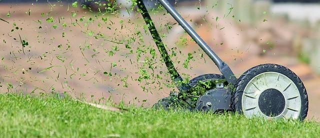 Pravidelná údržba trávníku