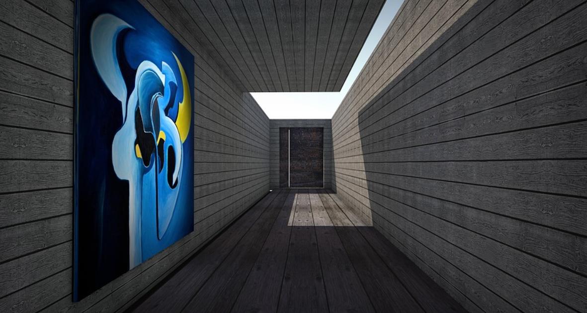 interiér s dřevem