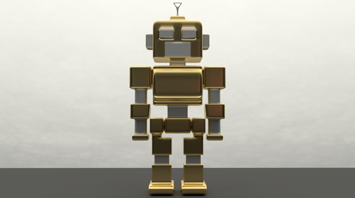 přichystaný robot