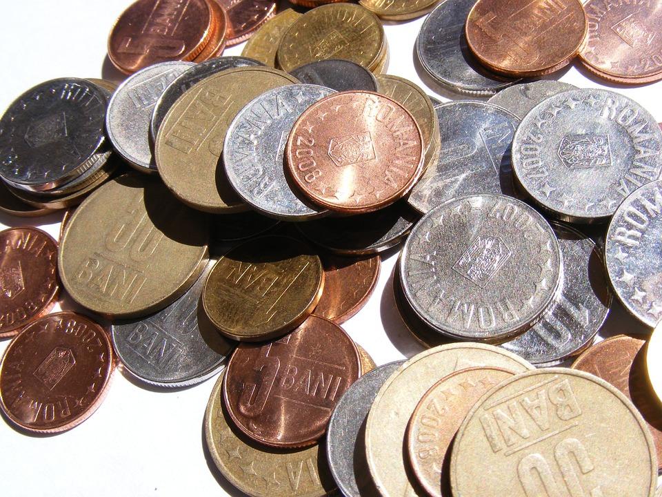 rumunské peníze